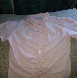 👚Школьная рубашка