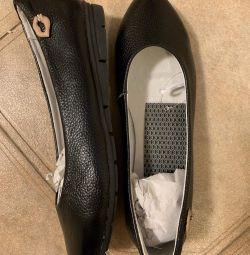 Pantofi de balet pentru femei. Piele autentică. 37,38,40