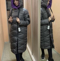 Yeni uzun ceket rs48-56