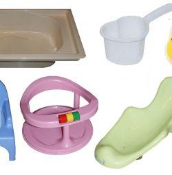 Μπάνιο, ολίσθηση, κάθισμα, γλάστρα, κύκλο, ανταλλαγή
