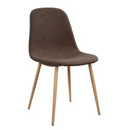 LEONARDO CHAIR HM00100.03 С METAL FOOTS &