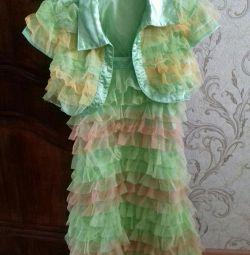 Summer dress with a bolero