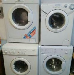 Washing machines used with warranty