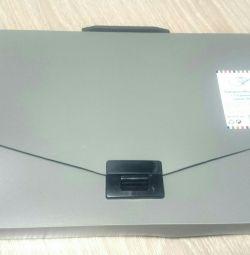 Plastic briefcase