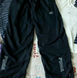Sports pants with a lining 46-48 size
