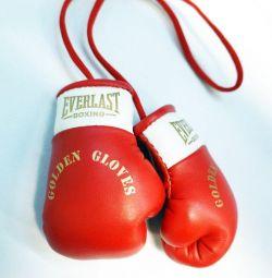Mănuși din piele de box
