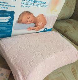 Ортопедическая подушка trelax детская