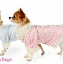 Дублянка рожева (одяг для собак)