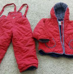 Jacheta toamnă + salopete