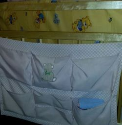 Pocket for Ikea cot