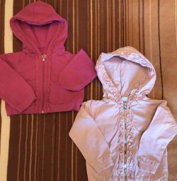Ρούχα για ένα κορίτσι 1,5 ετών (86r-r)