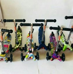 Mini scooter yeni
