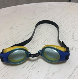 Children's goggles for swimming and the pool + sleeves