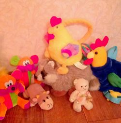Soft toys, backpack for children