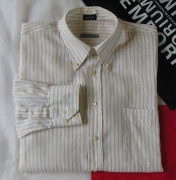 Рубашка сорочка лён Modelo оригинал Испания 43
