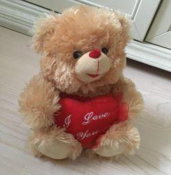 Іграшка ведмідь ведмежа говорить
