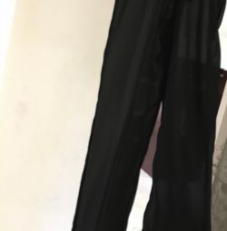 Шифоновые брюки Италия