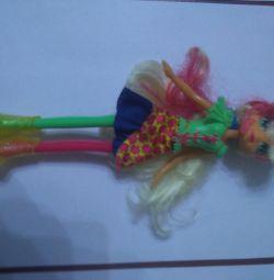 Applejack doll malitol pony