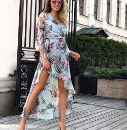 Sahilde elbise ya da yürüyüş