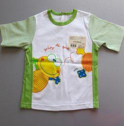 Новая футболка для мальчика на 3 года, размер 98