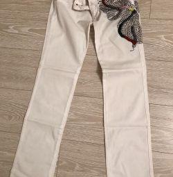 Pantaloni noi pentru wagoon