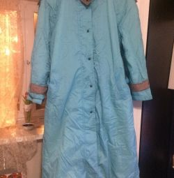 Light comfortable raincoat for spring bargaining is appropriate