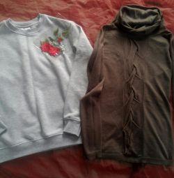 Новая толстовка и свитер