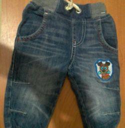 Jeans p. 6-9 months. (74)
