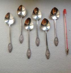 Spoons pattern matryoshka Melchior silver USSR