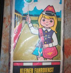 Genç demiryolu işçisi