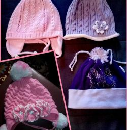 Demi-season hats for 3-5 years