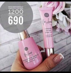 Serum for face and skin around the eyes NL