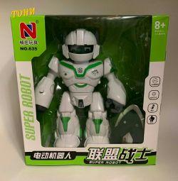 Jucăriile SUPER ROBOT luminoase muzicale
