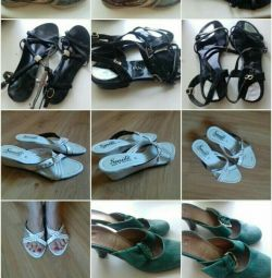 300 ruble için sandaletler! 35-36r.