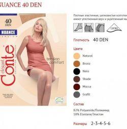 Pantyhose Conte Nuance 40, p. 2-6