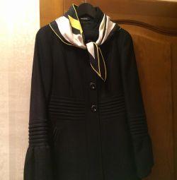 Пальто Италия 100% шерсть