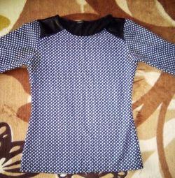 Μπλούζα 42-44 φορές., Μανίκι 1/3. Shuist District