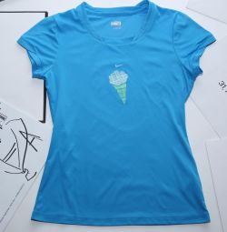 Nike T-shirt blue