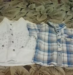 Shirts for 1 year