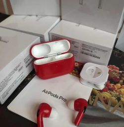 Căști wireless wireless AirPods Pro RED