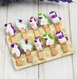 Clothespins decorative Unicorns