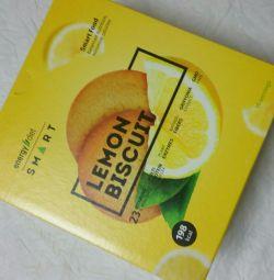 коктейли Energy Diet Smart лимонное печенье