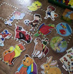 Развивающие игрушки (пакет)