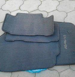 RAV4 floor mats