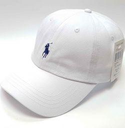 POLO RALPH LAUREN кепка бейсболка (белый)