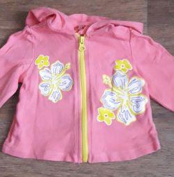 Jacket cu fermoar Gloria jeans, 62-68