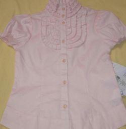 Μπλούζα για κορίτσια σε ύψος 122