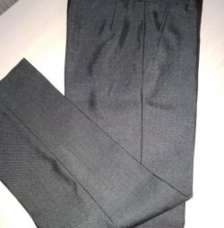 Classic pants for height 110-116 cm