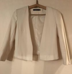 Ceket beyaz xs