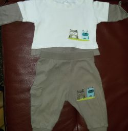 Suit for a baby up to 80cm